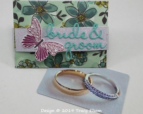GC197 Bride & Groom Giftcard Envelope