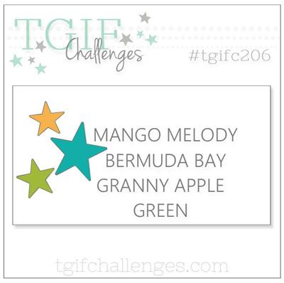Logo for TGIF challenge #TGIFC206 Colours (April 5 to 11, 2019)