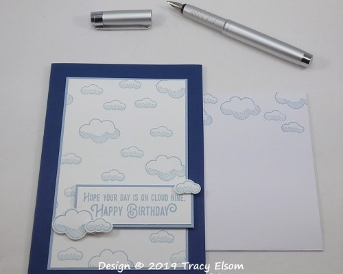 1762 Cloud Nine Birthday Card