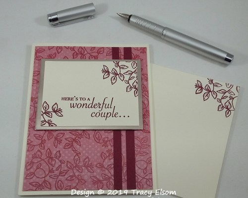 1773 Wonderful Couple Card
