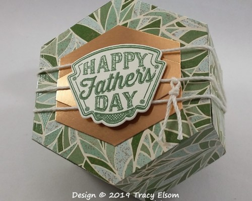 BB46 Hexagonal Father's Day Box