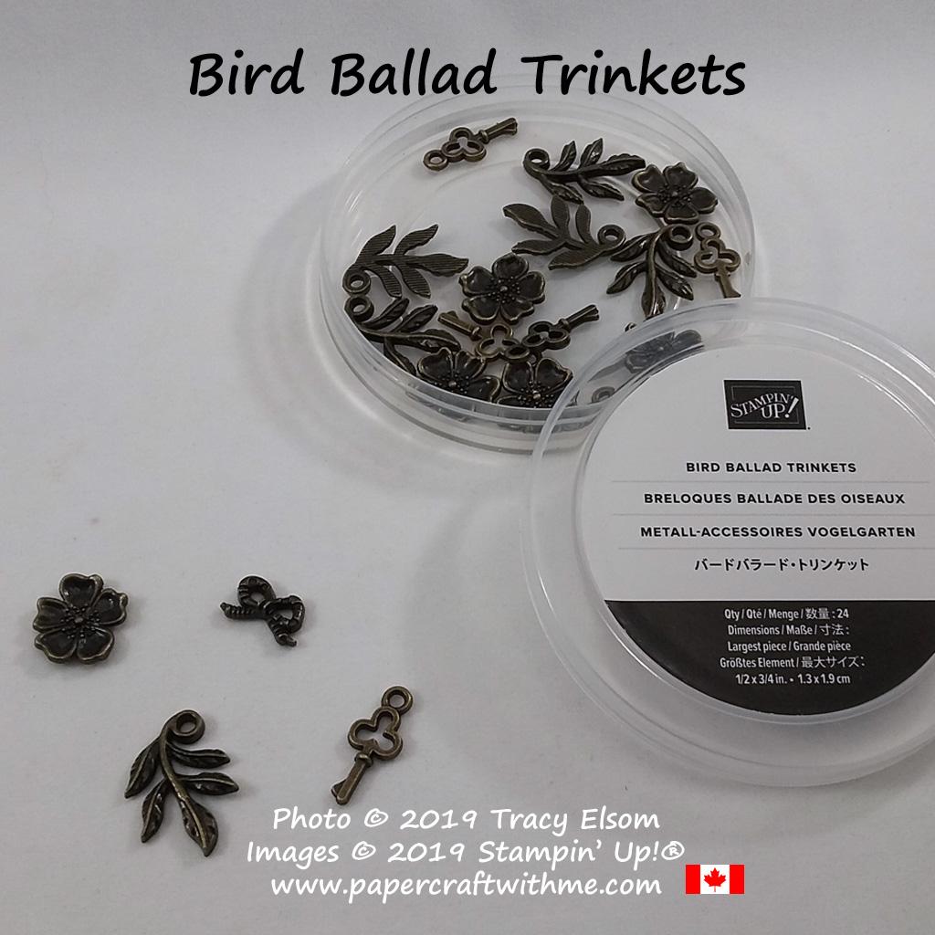 Bird Ballad Trinkets from Stampin' Up!