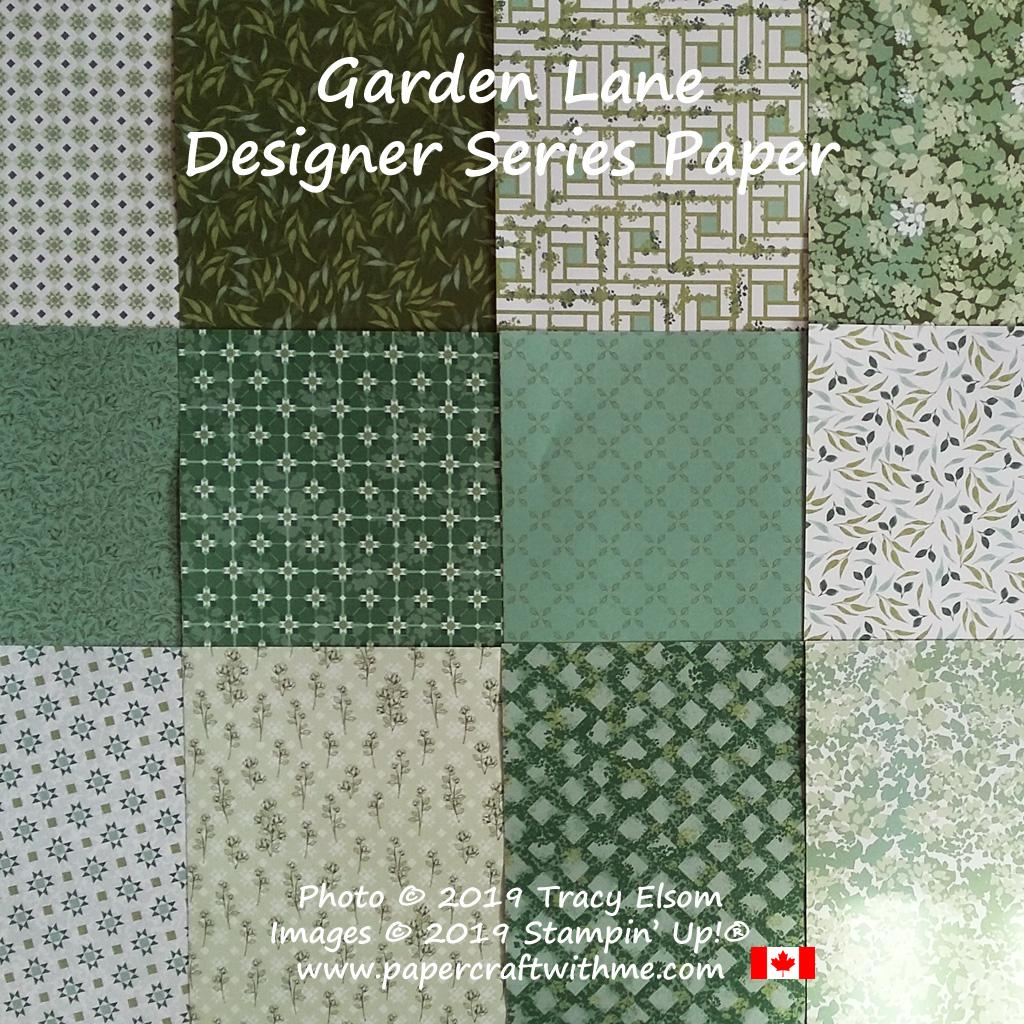 Garden Lane Designer Series Paper from Stampin' Up!