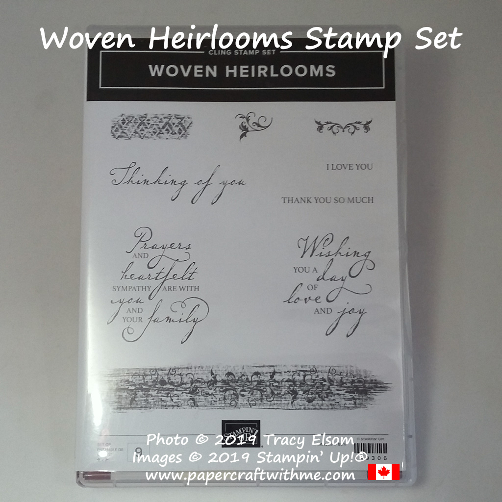 Woven Heirlooms Stamp Set from Stampin' Up!