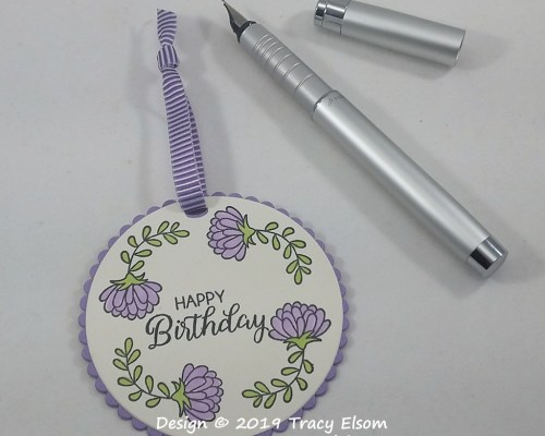 Chrysanthemum Gift Tag