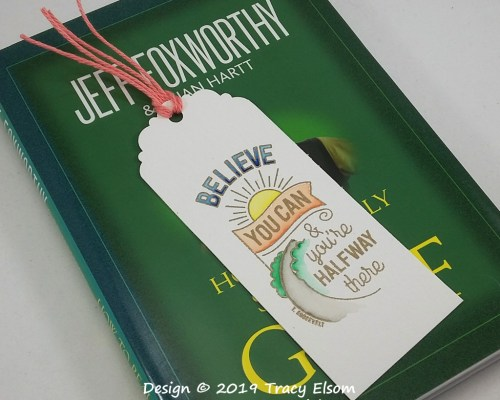 BM256 Believe You Can Bookmark