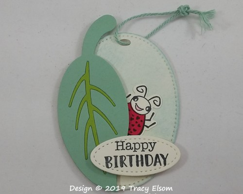 Ladybug Gift Tag