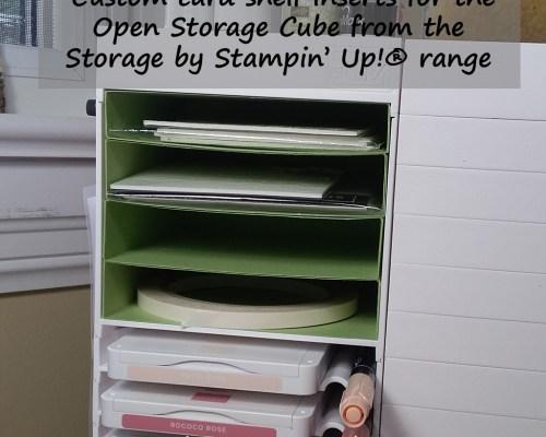 Open Storage Cube Shelves