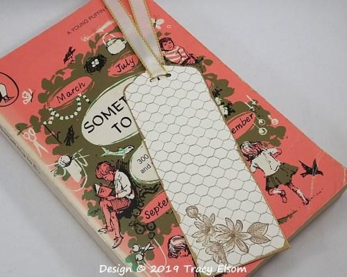 BM259 Sepia Flower Bookmark