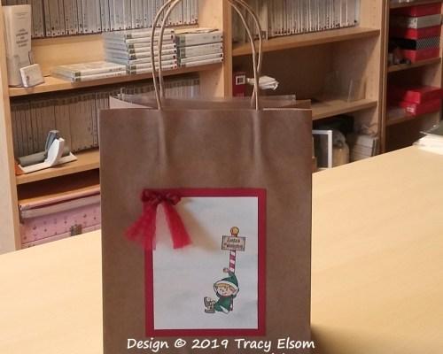 BB51 Santa's Workshop Bag