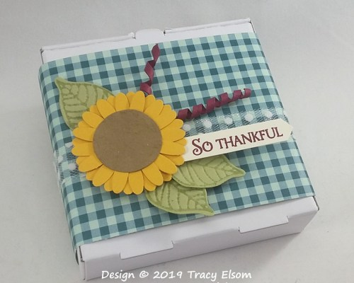So Thankful Sunflower Box