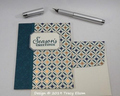 1871 Seasons Greetings Card