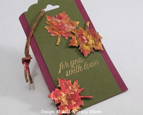 Autumn For You Gift Tag