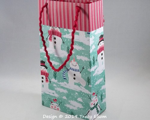 BB58 Snowman Gift Bag