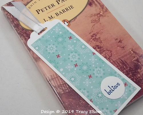 BM276 Believe Snowy Bookmark