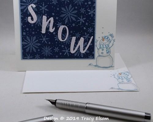 1887 Snow Card
