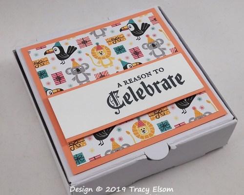Celebrate Mini Pizza Box