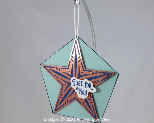 Copper Star Gift Tag