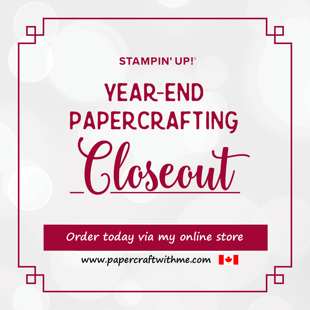 Retiring items from the Stampin' Up! 2019 Holiday Catalogue are only available while stocks last. #papercraftwithme