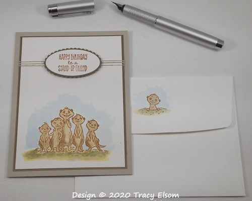 1936 Stand Up Friend Birthday Card