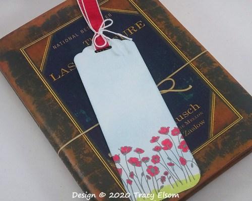BM281 Poppy Field Bookmark