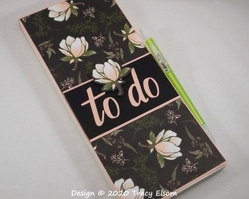 P105 Large To Do List Notepad