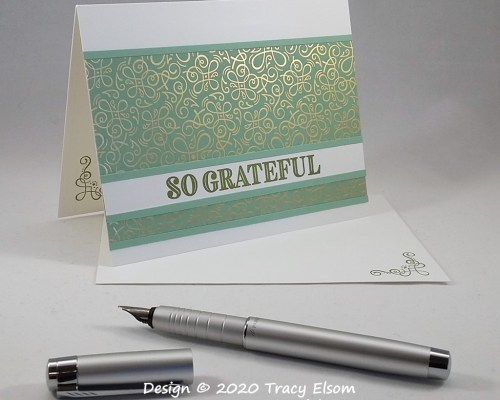 1962 Simple So Grateful Card
