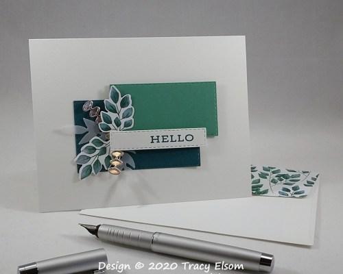 1982 Hello Card