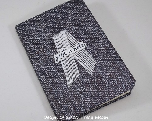 P111 Textile Effect Notebook
