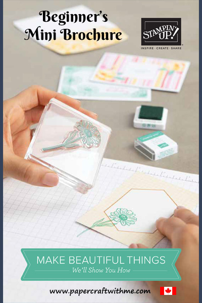 Link to the English Canadian version of the Stampin' Up! 2020/2021 Beginner Stamper Mini Brochure