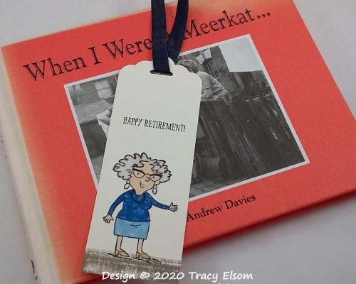 BM303 Happy Retirement Bookmark