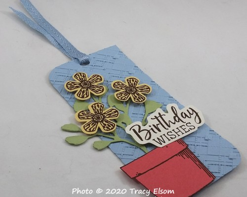 House Plant Birthday Gift Tag