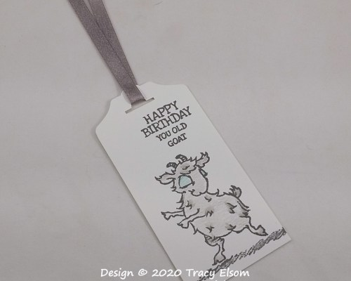 Old Goat Birthday Gift Tag