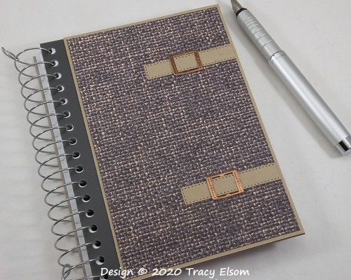 P118 Buckles And Straps Notebook
