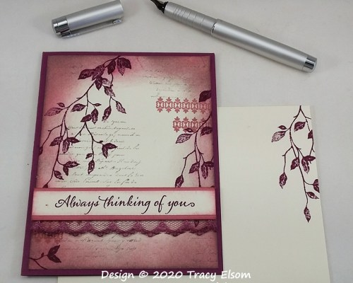 2024 Vintage-Style Thinking of You Card