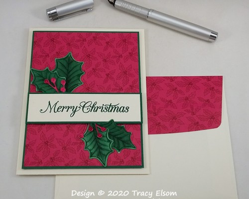 2034 Berry Merry Christmas Card