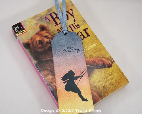 BM308 Keep Dreaming Silhouette Bookmark