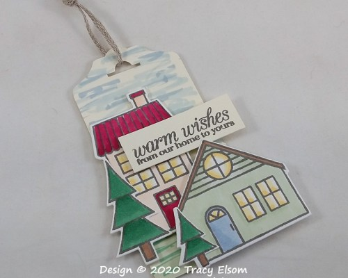 Warm Wishes Housewarming Gift Tag