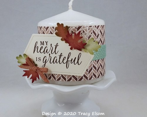 P120 Grateful Heart Candle Collar