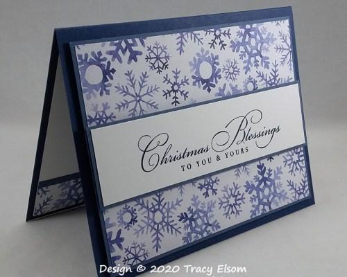 2036 Christmas Blessings Card