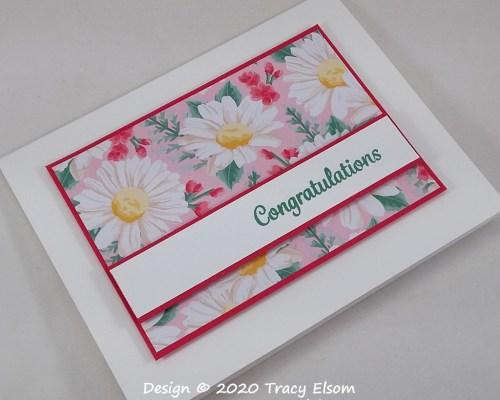 2040 Summer Daisy Congratulations Card