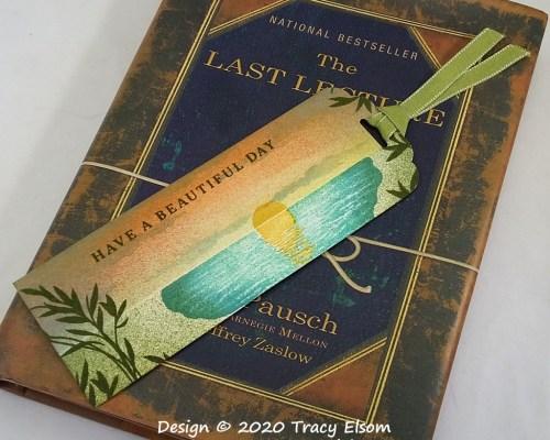 BM314 Beautiful Day Bookmark