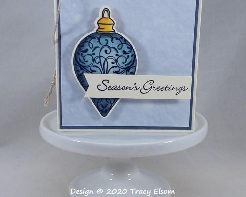 Ornament Greetings Tag