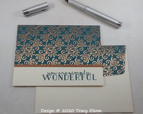 2066 Simply Wonderful Card