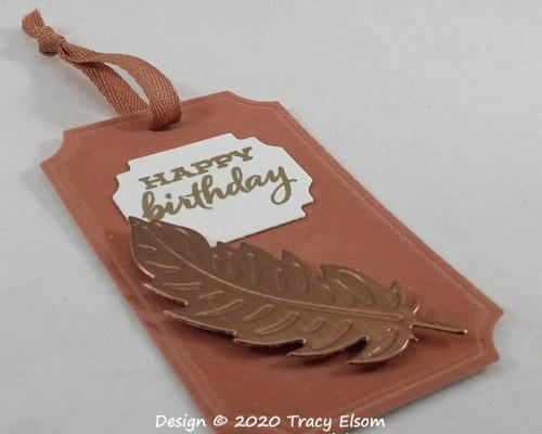Velveteen Birthday Tag