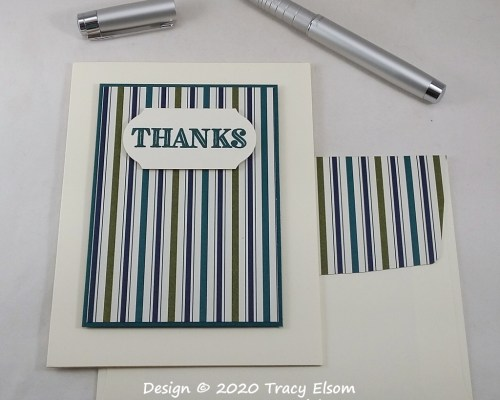 2077 Simple Thanks Card