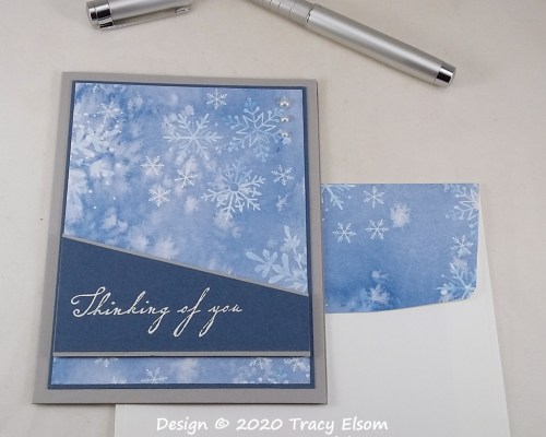 2094 Snowy Thinking Of You Card