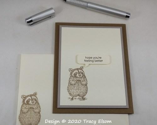 2099 Hope You're Feeling Better Card