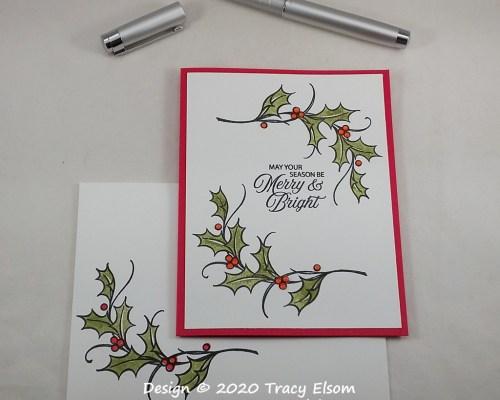 2102 Merry & Bright Christmas Card