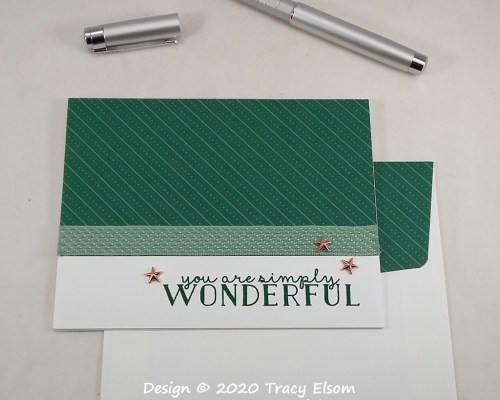 2104 You Are Simply Wonderful Card